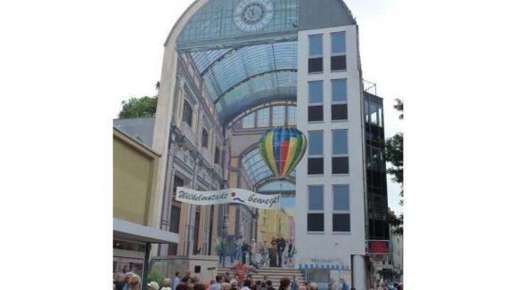 Spandauer Wilhelmstädter erhalten ein neues Wandkunstwerk.