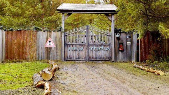 Das Tor zu einer neuen Gesellschaft. Vielleicht gehen hier bald Besucher ein und aus.