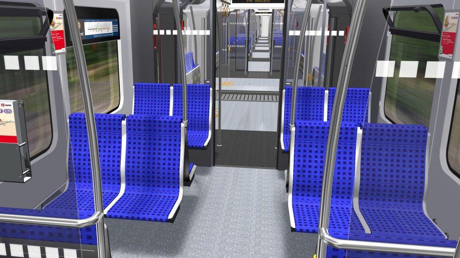 Nicht im Bild, aber ebenfalls neu: Die komplette S-Bahn wird - endlich - klimatisiert sein.