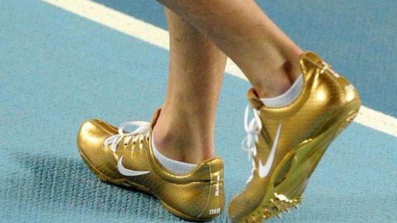 Besondere Laufschuhe von Nike.