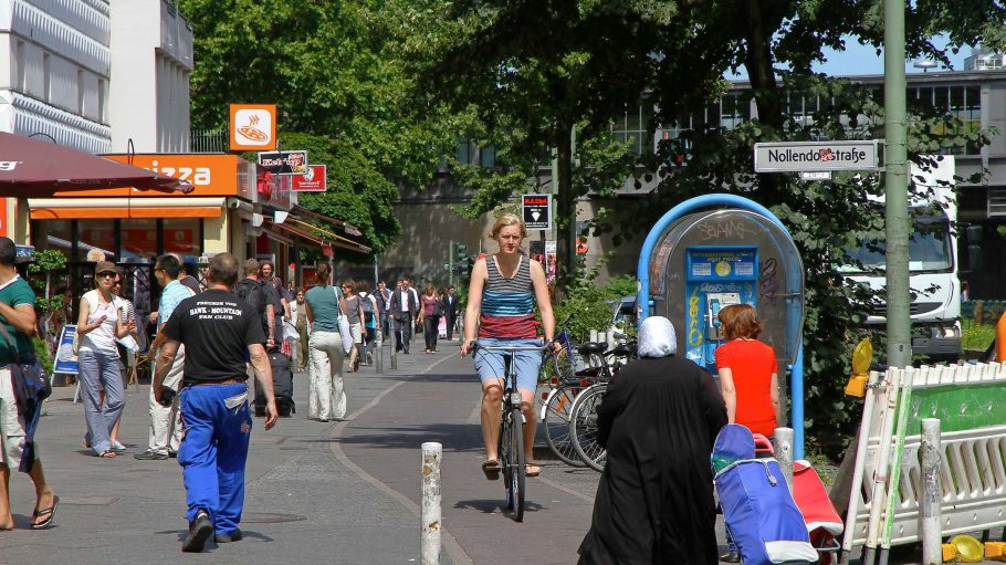 Viel Gedränge: Die typische Szenerie am Nollendorfplatz.