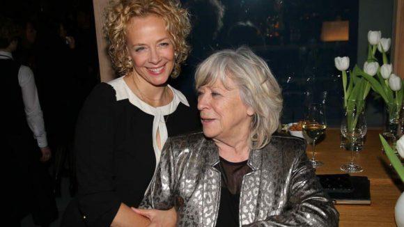 ... und noch mal Katja Riemann, diesmal mit Margarethe von Trotta.
