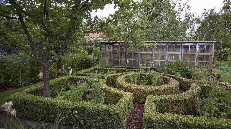 Auch dieses Heckenlabyrinth gehört zu den Offenen Gärten Berlin-Brandenburg.
