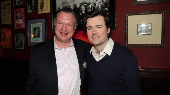 Auch einer der Geschäftsführer hat blaues Blut in den Adern:Maximilian Graf von Saurma (links) zusammen mit Moritz Stolberg.