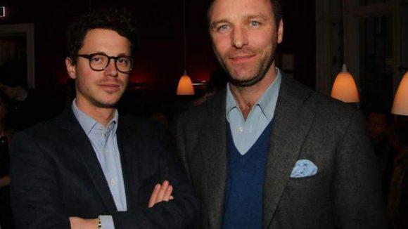 Die Konkurrenz vom Grill Royal war auch gekommen, um zu probieren: Moritz Estermann und Boris Radzun (links).