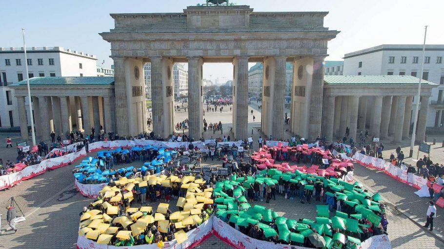 Laut der Forsa-Umfrage unterstützt die Mehrheit der Berliner Olympia in der Hauptstadt.