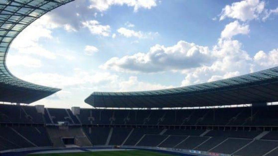 Tief unter dem Olympiastadion versteckt sich ein goldener Ort zum Trauern und Feiern.