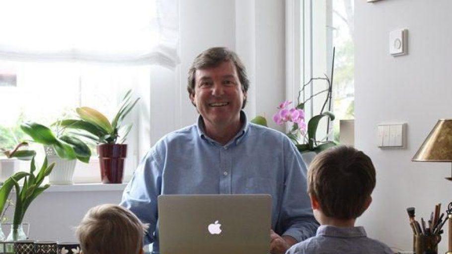 Das Gesicht hinter dem Blog: Detlef Untermann. In seinen alltagsnahen Blogartikeln bleiben die - im übertragenenen Sinne - namensgebenden Enkelkinder stets anonymisiert.