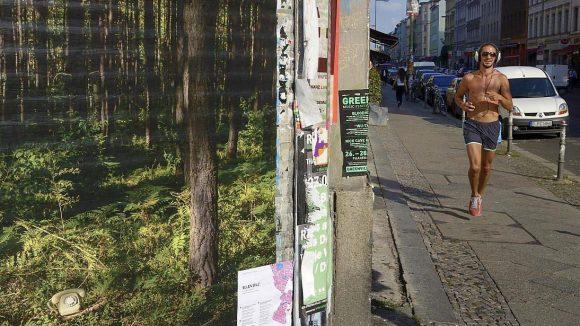 Szene aus der Kreuzberger Oranienstraße im Kiez SO 36.