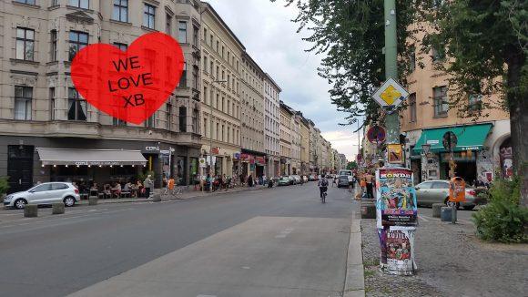 Die Oranienstraße mit ihren vielen schönen Bars und Kneipen – hier kann man sich nur wohlfühlen.