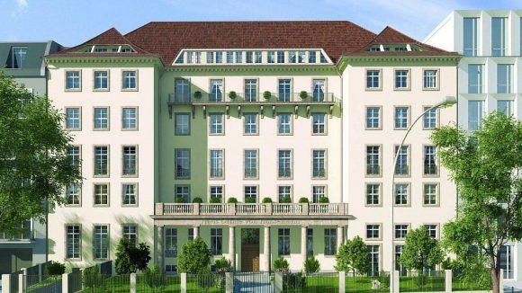 So soll das Ottilie-von-Hansemann-Haus an der Otto-Suhr-Allee in gut einem Jahr aussehen.