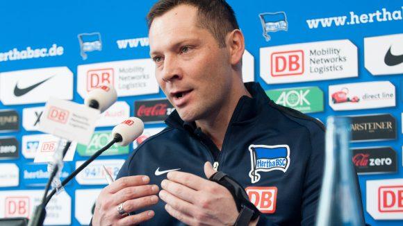 Hertha BSC´s neuer Chef-Trainer Pal Dardai.
