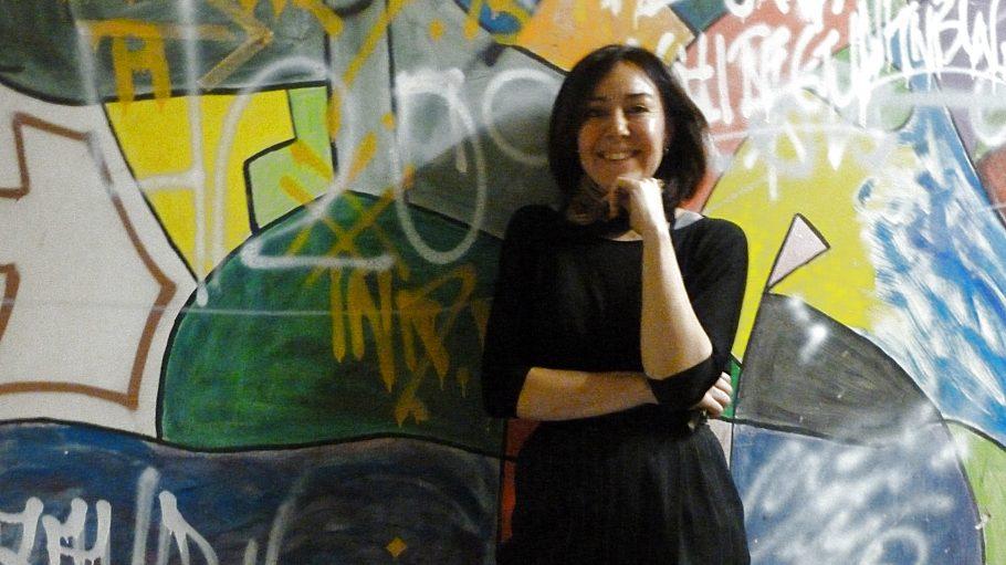 Die Berlinerin Paola Alfaro d'Alençon leitet das U-Lab und das Projekt für die Brachfläche am Markgrafendamm.