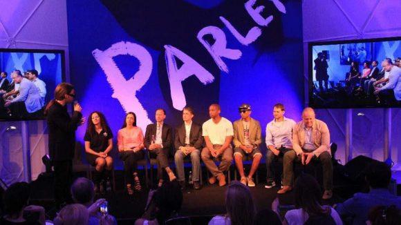 Auf dem Premium-Gelände veranstaltete Parley einen Kreativ-Kongress zum Schutz der Weltmeere.