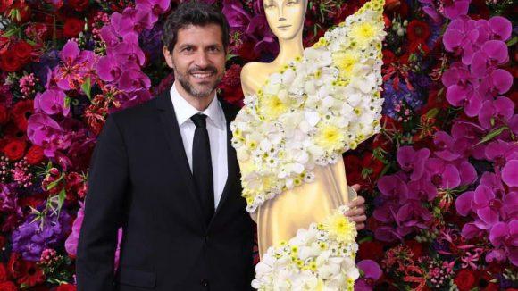 Machen gemeinsam eine gute Figur: Schauspieler Pasquale Aleardi mit der Lola.