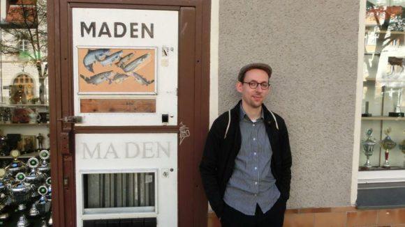 Der Gelegenheits-Poetry-Slammer und sein kleines Wunder vom Wedding: der Madenautomat in der Tegelstraße.