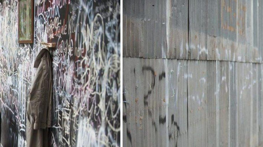 Jeder Mauer hat zwei Seiten. Die Peace Wall spaltet die Friedrichstraße - vielleicht nicht mehr lange.
