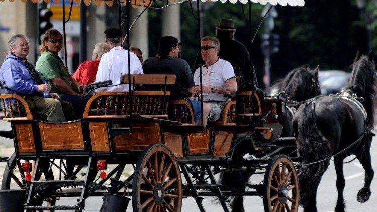Für Touristen ist die Fahrt mit der Pferdekutsche ein Spaß - doch viele Bewohner in Mitte stören sich am anfallenden Pferdemist.