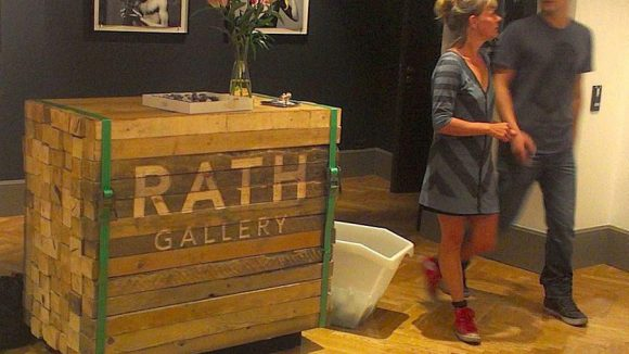 Auch die Rath Gallery in Berlin gehört zu Wiedemanns Kunden.