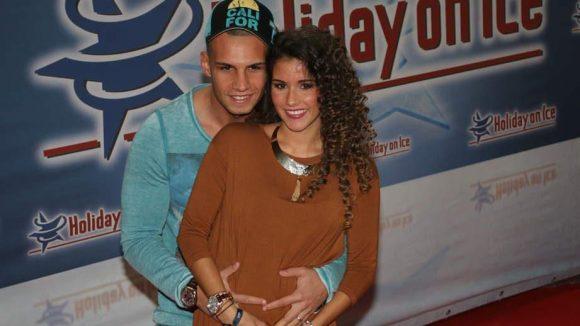 ... Pietro und Sarah Lombardi mit Babybauch ...