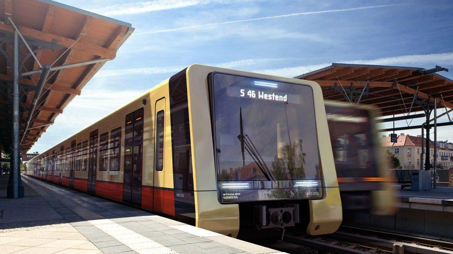 Berlins neue S-Bahn hat eine ganz schön platte Schnauze. Das Ganze ist aber nur eine Designstudie - wie die Wagen tatsächlich aussehen, erfahren wir erst 2020.