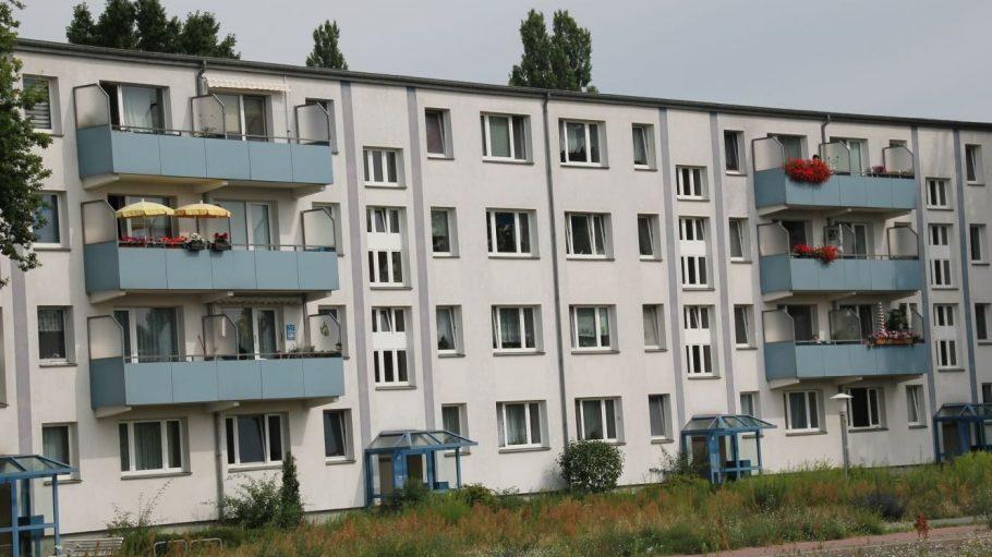 Plattenbau in Johannisthal