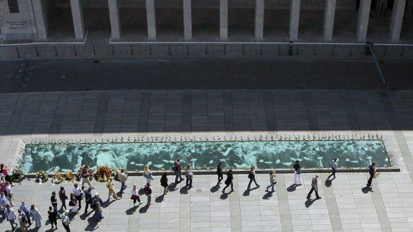 Dieser Platz vor dem Ministerium erinnert seit Sonntag, den 16. Juni an den Volksaufstand vor 60 Jahren.