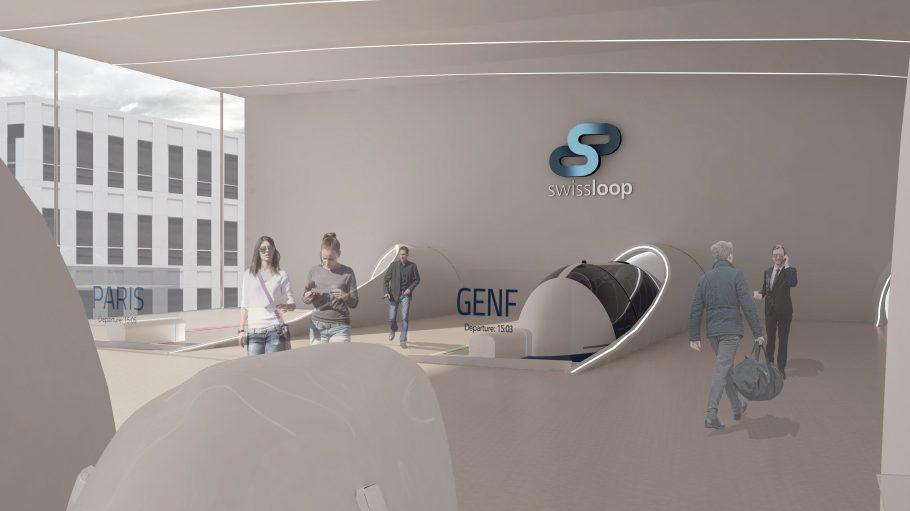 Ein Gruß aus der Zukunft: 40 Schweizer Studenten bauen an dem neuen Transportmittel Hyperloop.