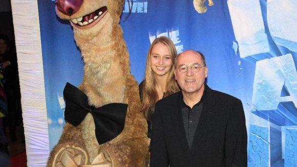 Sid, Gregor Gysi (Die Linke) und seine Tochter Anne.