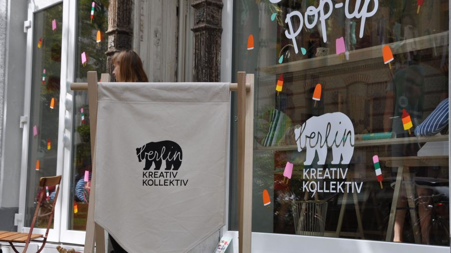 Pop-up Store in Mitte: Kunst und Mode vom Kreativ Kollektiv