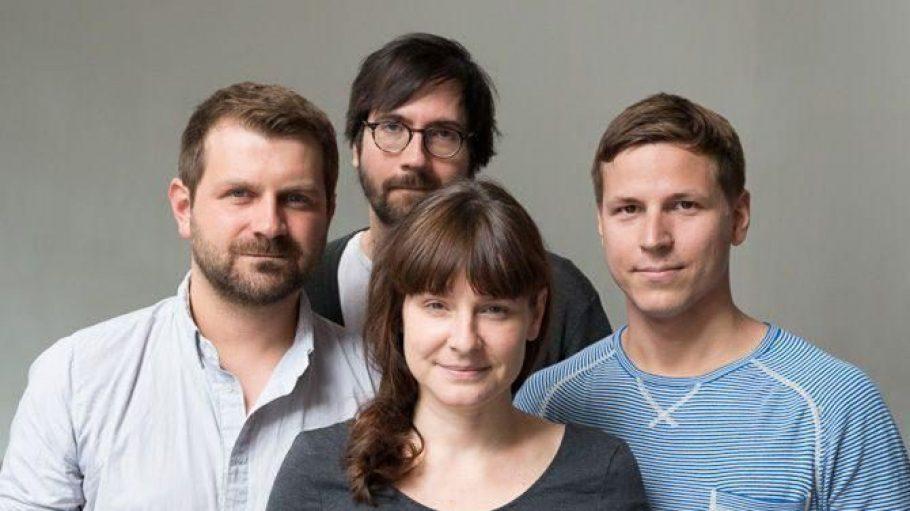 Das Team von PopUp Berlin v.l.n.r: Patrik Burkert, Nicole Rohde, Dennis Boehres und Sven Straubinger.