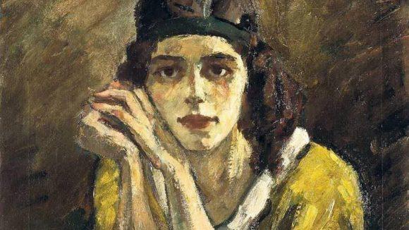 Die Tänzerin Mary Wigman wurde von Leo Freiherr von König portraitiert.