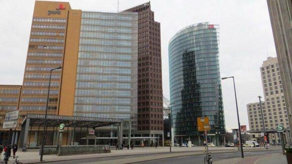 Am Potsdamer Platz will Berlin hoch hinaus!