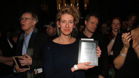 """Für ihren Kinderfilm """"Rico, Oskar und die Tieferschatten"""" erhielt Regisseurin Neele Leana Vollmar den Preis."""