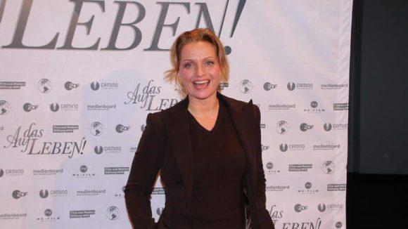 """... Catherine Flemming (""""Commissario Laurenti"""")."""