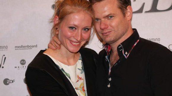 ... sowie der Drehbuchautor Thorsten Wettcke mit seiner Frau Anja.