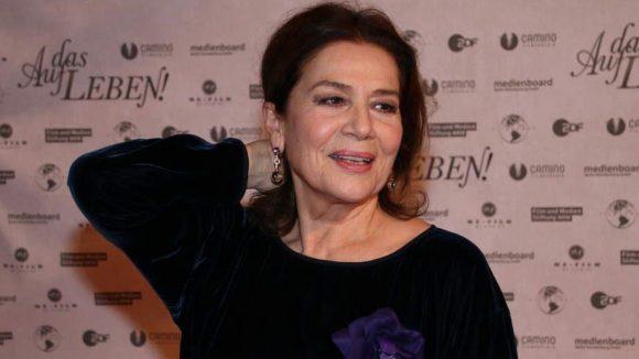 Wie immer der strahlende Mittelpunkt des Abends: Hauptdarstellerin Hannelore Elsner.