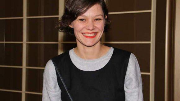 Zu den Premierengästen gehörten Lieblings-Designerin Anne Gorke ...