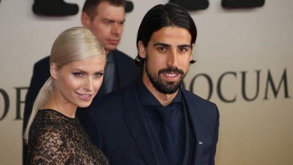 ... Sami Khedira und seine Verlobte, das Model Lena Gercke ...