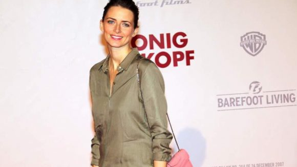 Zur Premiere waren auch Model Eva Padberg ...
