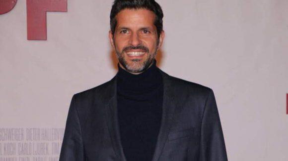 """Schauspieler Pasquale Aleardi probt eigentlich gerade in New York für das Musical """"Chicago""""."""