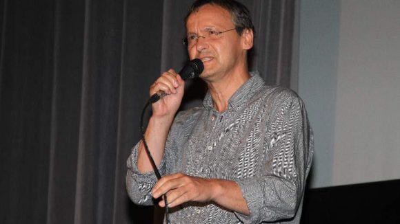 """""""Kino-King"""" Knut Elstermann moderierte ..."""