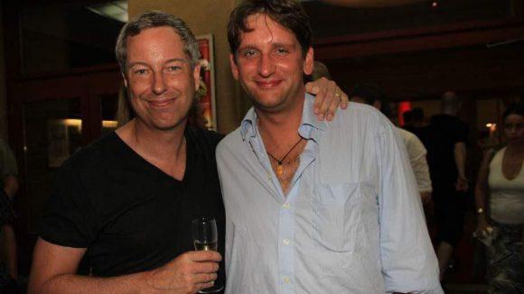 ... wie Thomas Hermanns und der Schauspieler Sebastian Schwarz (Ensemble-Mitglied an der Schaubühne).