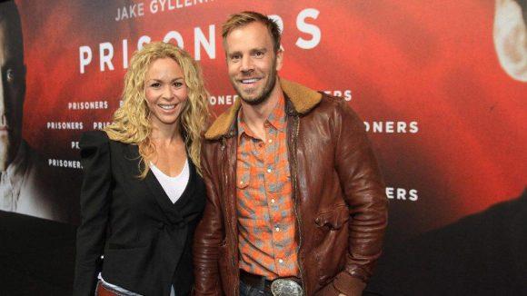 Schauspieler Dominic Boeer mit seiner Freundin, der australischen Tänzerin und Choerografin Alexandra Hipwell.