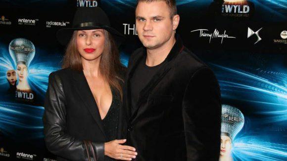 Boxer Denis Boizow mit Ehefrau Olga.
