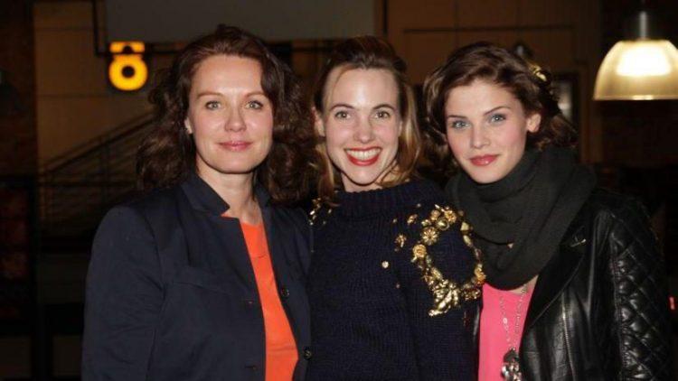"""Die Schauspielerin Maike Bollow (""""Tatort"""", """"SOKO Stuttgart""""), die niederländische Romanautorin Sophie van der Stap - sie schrieb die Vorlage für """"Heute bin ich blond"""" - und Hauptsdarstellerin Lisa Tomaschewsky."""