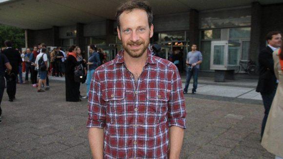 Der Berliner Schauspieler und Regisseur Fabian Busch, bekannt unter anderem aus dem Tatort.