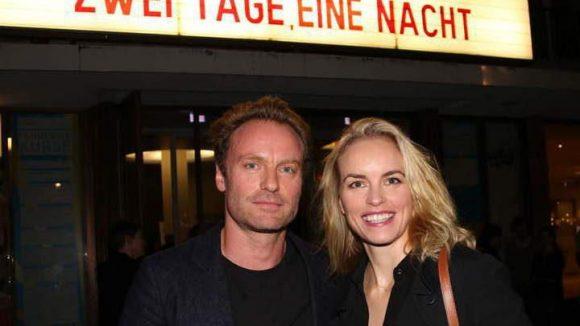 """... seine Kollegen Mark Waschke und Nina Hoss, deren aktueller Film """"Phoenix"""" gerade in den deutschen Kinos läuft, ..."""