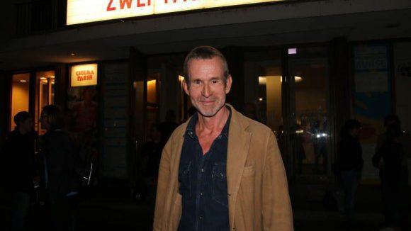 Bei der Premiere im Cinema Paris waren dabei: Schauspieler Ulrich Matthes ...