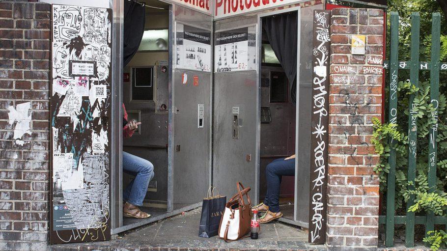 Der Fotoautomat in der Kastanienallee ist immer einen Besuch wert!